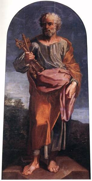 Puget St Peter Holding the Key of the Paradise